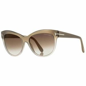 Tom Ford Sunglasses Brown Gradient/Mirrored Lens